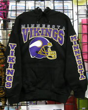 Minnesota VIKINGS Black HOODIE- S, M, L, XL, 2XL, 3XL, 4XL, 5XL,  !LOOK!