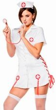 Sexy Adult Halloween Costume Naughty Nurse Dress Outfit