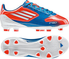adidas F 10 TRX FG 2012 Soccer Shoes Blue / White / Red Brand New Kids - Youth