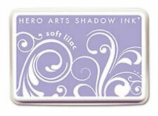 Hero Arts Shadow Ink  Soft Leaf Sand Lilac Green Apricot Pool Blossom Yellow +