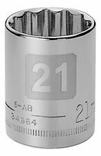 Craftsman 1/2 Metric Dual Laser Etched 12pt Socket - Any Size STD USA MM Point