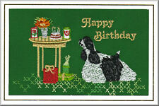 American Cocker Spaniel Birthday Card  by Dogmania  - FREE PERSONALISATION