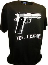 2nd Amendment Guns Firearms 9mm Mag 45 Auto Colt 1911 Handgun Conservative Tee