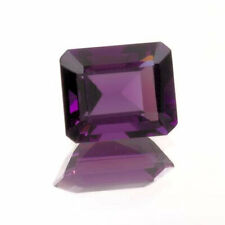 (10x8mm - 20x15mm) Emerald Shape AAA Lab Created Amethyst