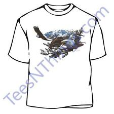 Collage Bald Eagle T-Shirt