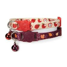 Casual Kitty Harvest Fall Autumn Safety Cat Collar w/ Bell