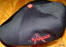 Black/Red  Kangol  Championship Series Flexfit  504  Cap  K1370FA