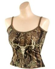 TANK TOP WOMEN'S SMOKEY BRANCH CAMO WILD GAME SLIM FIT TOP ONLY ROTHCO 4485
