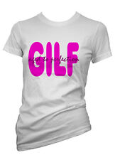 Ladies Funny tshirt Gilf. Age To Perfection T shirt Colours & Sizes