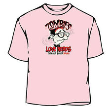 Zombies Love Nerds Halloween T-Shirt