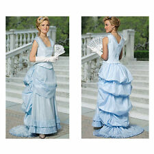 Ladies Old West Bustle style skirt and bodice sewing pattern uncut 5696