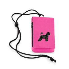 Portuguese Water Dog Phone Pouch Embroidered by Dogmania