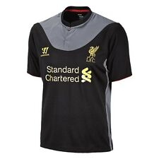 Warrior LIVERPOOL FC 2012-2013 Away SOCCER JERSEY Brand New Black/Grey