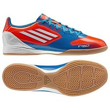 adidas F 10 TRX IN INDOOR  2012 Soccer Shoes Blue/White/Red Brand New