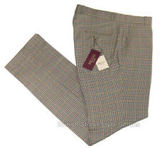 TWEED CHECK TROUSERS By Relco Classic Mod Sta Press Style Golf BNWT