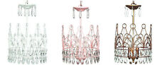 3-Light Crown Chandelier for Girl, Child, Kid, Teen Room Decor ~ Color Choice