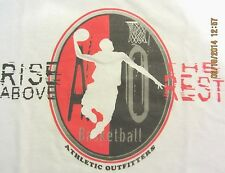 NEW! Mens RISE ABOVE THE REST Basketball Player Dribbling T-Shirt S to 5X