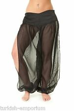 Belly Dance Chiffon Harem Pants for Dancing Tribal Dancer Costume Leggings NEW