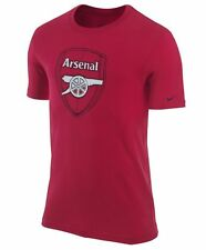 Nike Arsenal FC 2012-2013 Poly Core Crest Soccer Shirt  Brand New Red