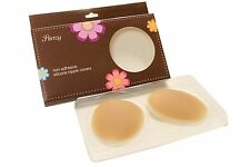 Reusable Super Thin Smooth Body Contour 100% Silicone Waterproof Nipple Cover