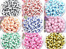 Wholesale 40/100pcs Acrylic Football Spacer Loose Charms Beads~findings 12MM