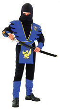 NINJA ASSASSIN CHILDREN KIDS COSTUME FANCY DRESS UP PARTY