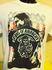 **  SONS OF ANARCHY   **  T SHIRT **  biker TV series HOT ITEM !! samcro SOA