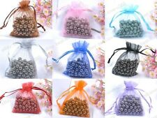 Lots Organza Gift Bag Jewelry Packing Pouch Wedding Favor Gift Bags Any Color