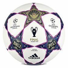 adidas Capitano FINALE UCL WEMBLEY 2013 Soccer BALL White / Purple Brand New