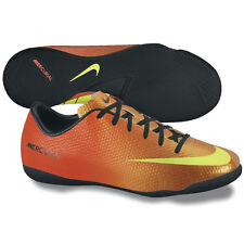 Nike Mercurial Victory IV IC Indoor Soccer SHOES 2013 Orange / Black New