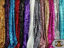 """Sequin Seaweed / 58"""" Wide / Sold by the yard"""