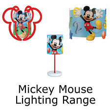 Disney Mickey Mouse Bedroom Lighting Table Lamps Light Shades Ceiling Shades