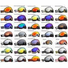 NEW Electric EG2.5 mirrored wide angle mens ski snowboard goggles 2013 Msrp$185