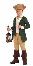 Child Paul Revere Colonial Historical Costume Halloween