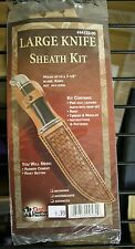 Tandy Leather Factory Natural Leather Craft Knife/Tool Sheath Kits - NEW!