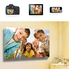 """Your Photo Picture on Canvas Print 30"""" x 20"""" A1 Box Framed With Hanging Kit"""