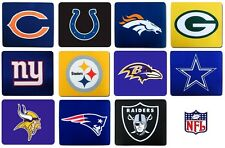 Choose Team Mousepad Quality NFL Official Licensed Mouse Pad Computer Mat 8 x 7
