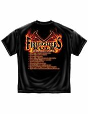 Firefighter T-Shirt Firefighters Rule Because Tee