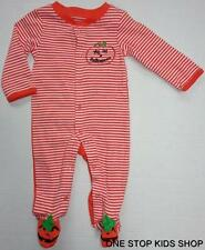 MY FIRST HALLOWEEN Infant Boys Girls 3 6 Months BODYSUIT Creeper Outfit PUMPKIN
