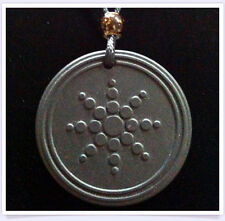 The Aura by QBP™ Multiple Frequency Energy Pendant in Three Neg Ion Energies