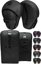 RDX Shin Instep Pads MMA Leg Foot Guards Muay Thai Kick Boxing Guard Protector C