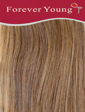 Clip In Human Hair Extension One Piece Quick Clip Pick & Mix Caramel Brown 10#