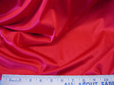 """Discount Fabric nylon Tricot stretch Sweetheart Red 108"""" wide 10TR"""