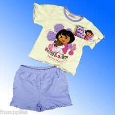 Official Girls Dora the Explorer Pyjamas Age 1-4 Years Fast 1st Class Despatch