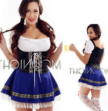 French Maid Outfit Bavarian Halloween Costume German Beer Girl Fancy Dress