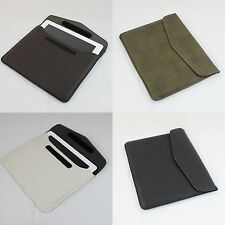 """12"""" Slimline iPad ipad 2 3 Leather Carrying Case Carry Bag Proctector Cover Tote"""