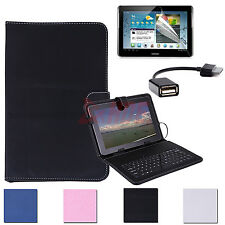 3in1 Keyboard Case Stand for Samsung Galaxy Tab 2 10.1 +30 PIN USB+Screen Gaurd