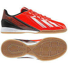 adidas F 10 TRX IN INDOOR 2013 Soccer Shoes Red / Black / White New  KIDS- YOUTH