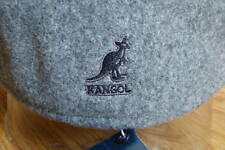 Mens  Classic  Kangol  Wool  504  Ivy  Cap  Color  Flannel Grey