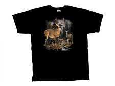 Deer T-Shirt Buck In The Woods Elders Design